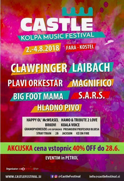 Castle Kolpa Music Festival 2018