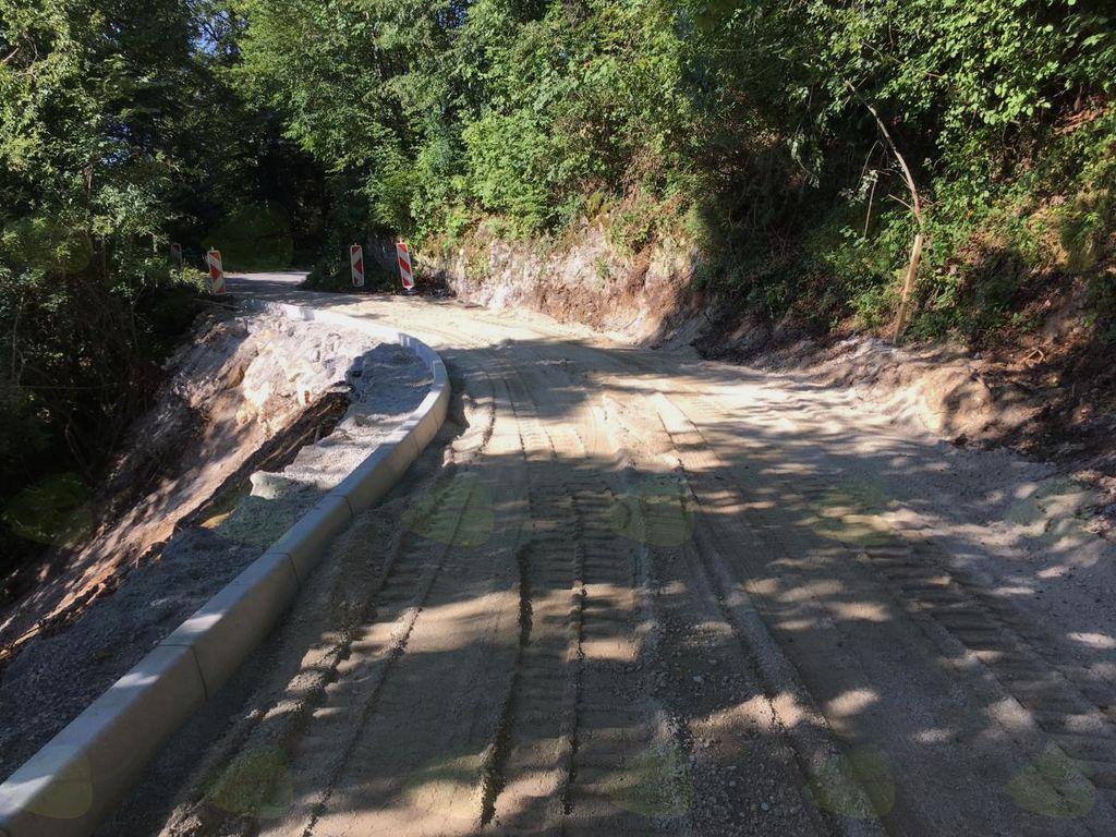 Sanacija plazu na javni cesti Negojnica - Klašte v Poljanah