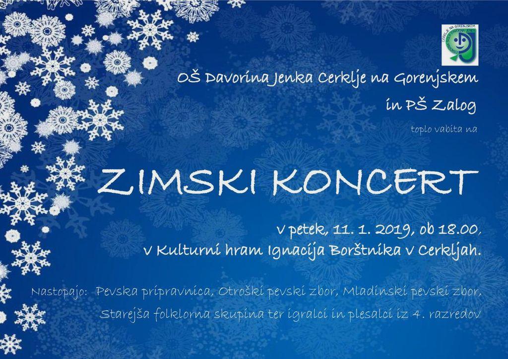 Zimski koncert