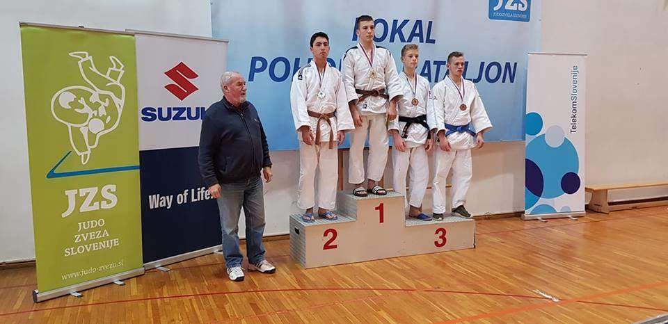 Jeseniški judoisti na tekmovanju v Slovenski Bistrici