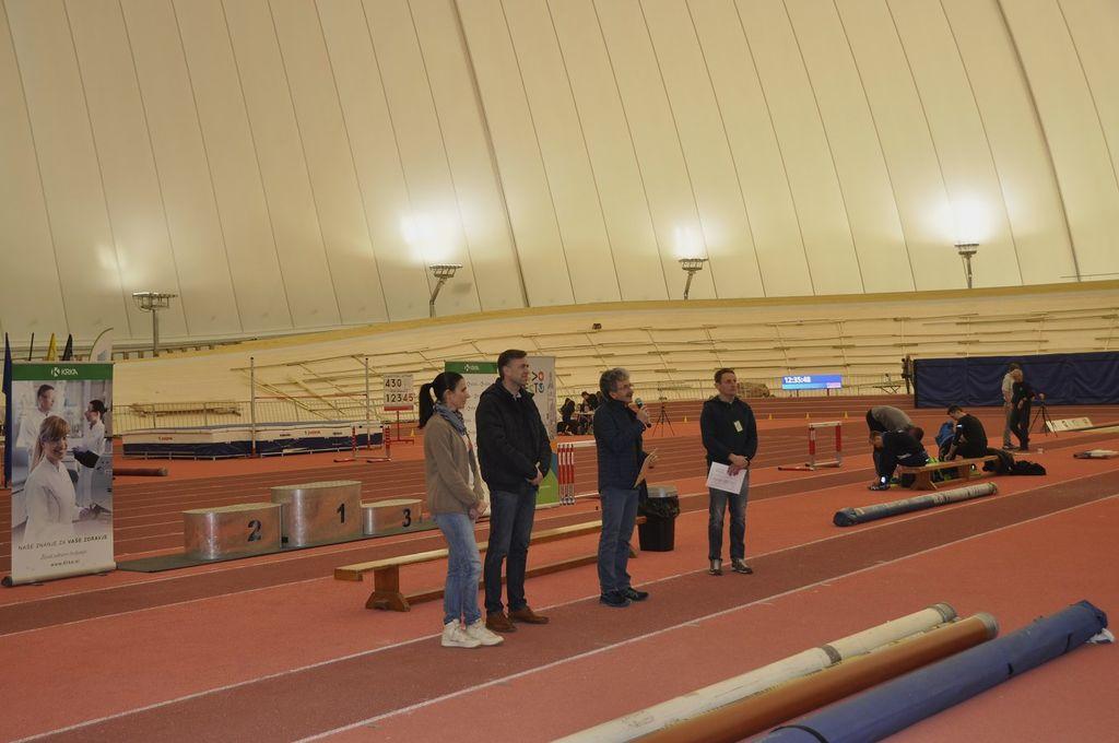 Olimpijski center Novo mesto prvič v Sloveniji gostil državno dvoransko prvenstvo za člane in članice v atletiki