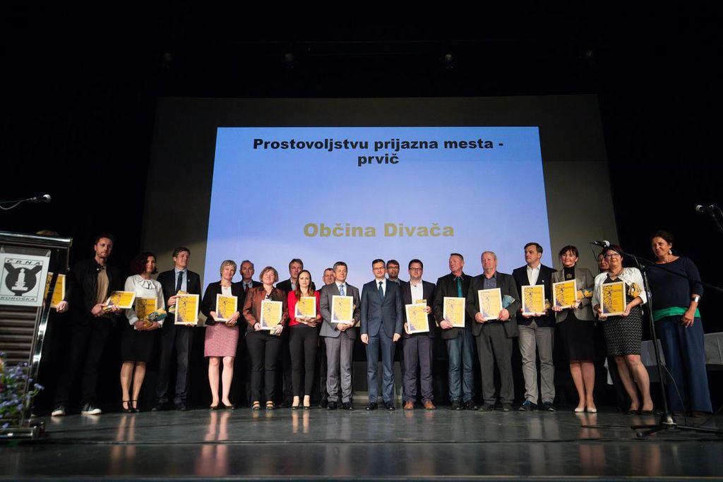 PROSTOVOLJSTVU PRIJAZNO MESTO SLOVENSKE KONJICE TUDI V 2019