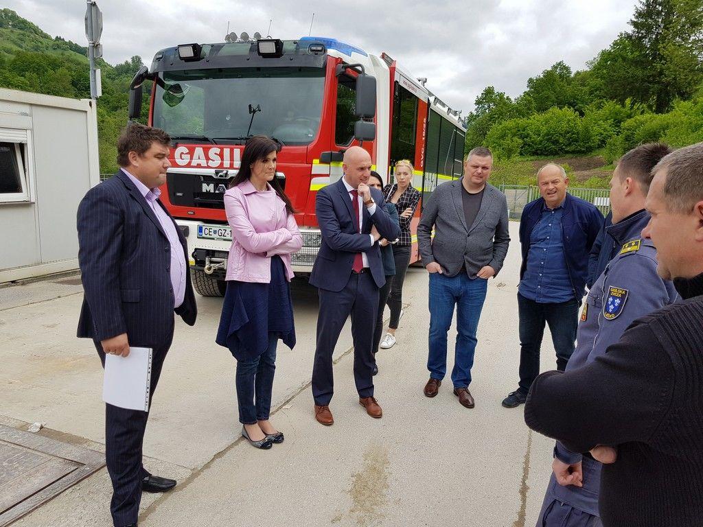 Ministrov obisk v Laškem