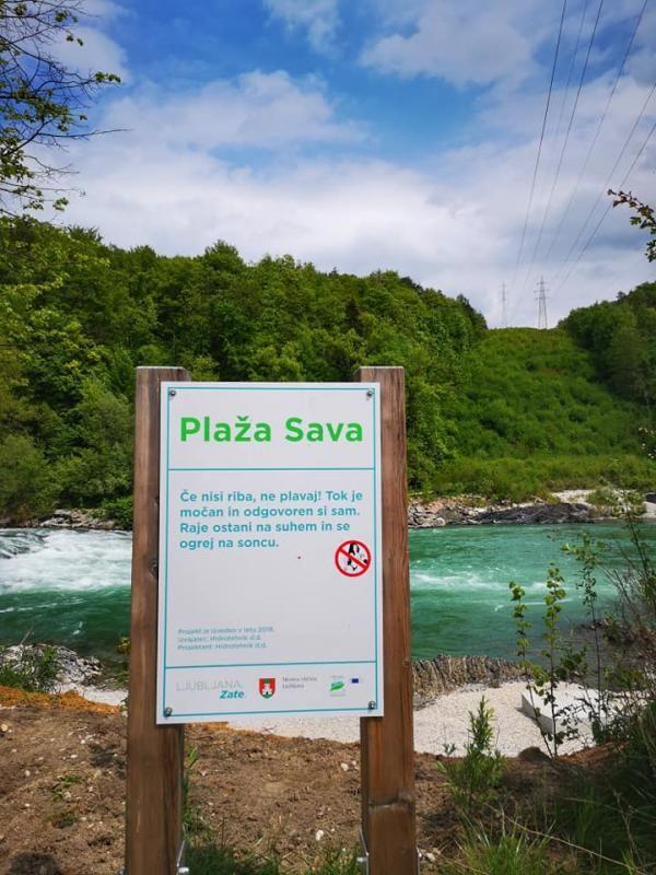 Plaža Sava čaka na poletje