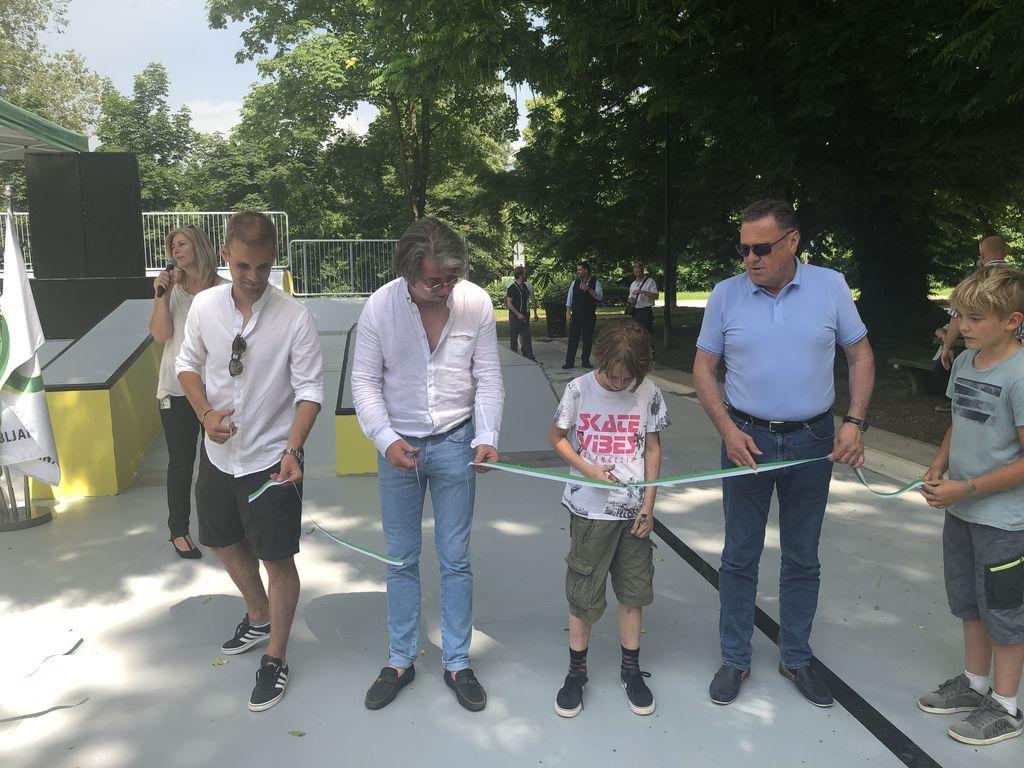Odprli smo park za rolkarje v Tivoliju