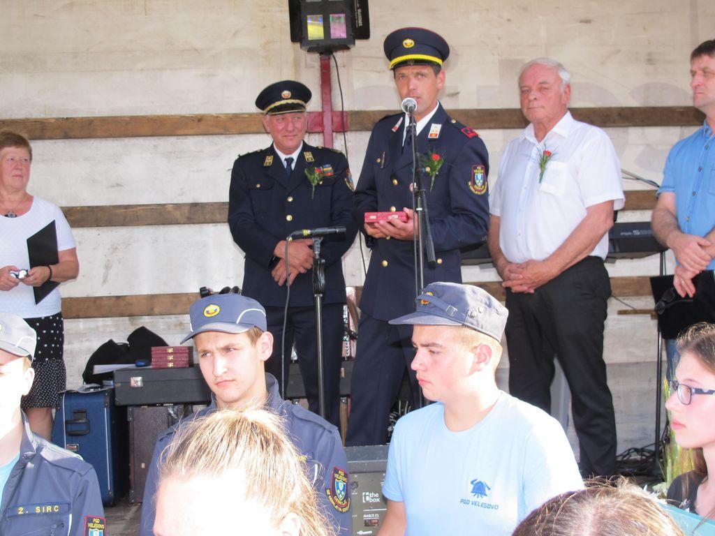 Prostovoljno gasilsko društvo Velesovo z novim gasilskim vozilom