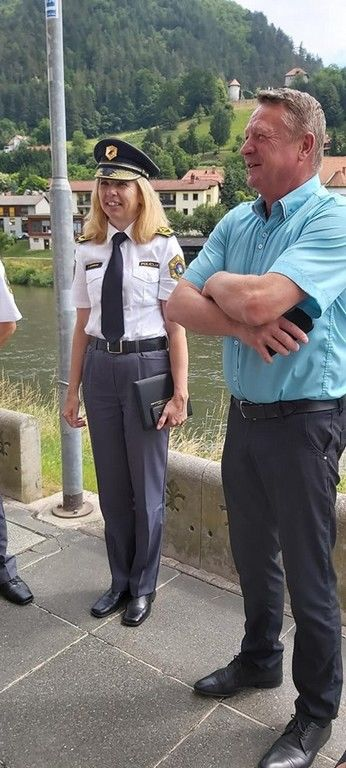 Občini Laško priznanje Policijske uprave Celje