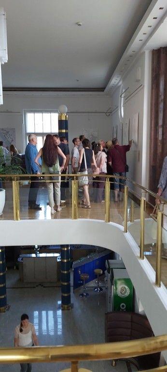 Otvoritev razstave - staro mestno jedro