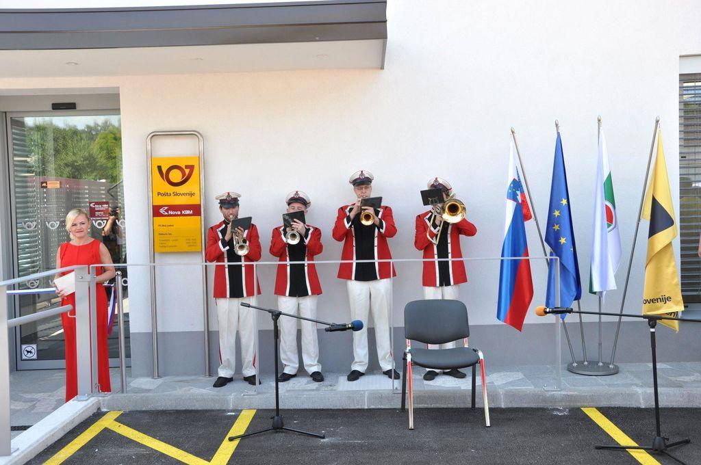 Odprtje novih poslovnih prostorov Pošte Grosuplje