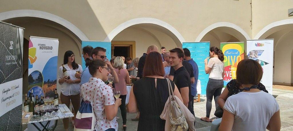 Protokolarno srečanje občin Novigrad in Laško