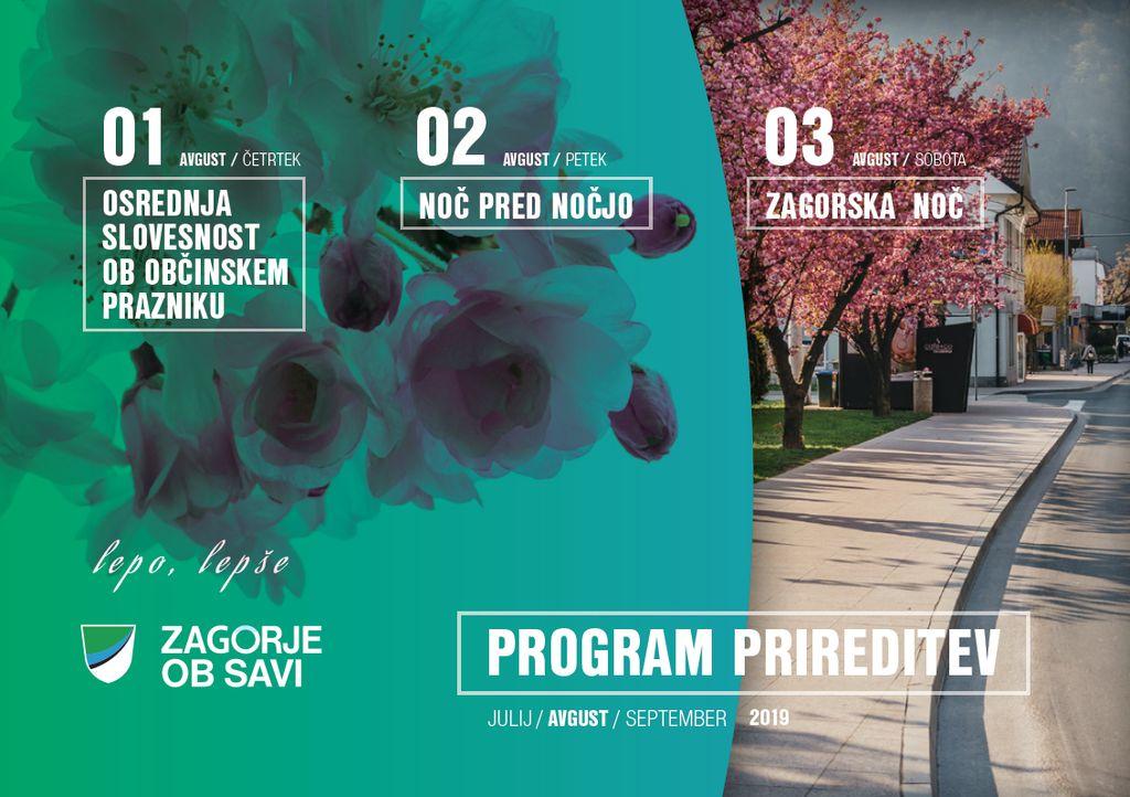 Program prireditev ob občinskem prazniku
