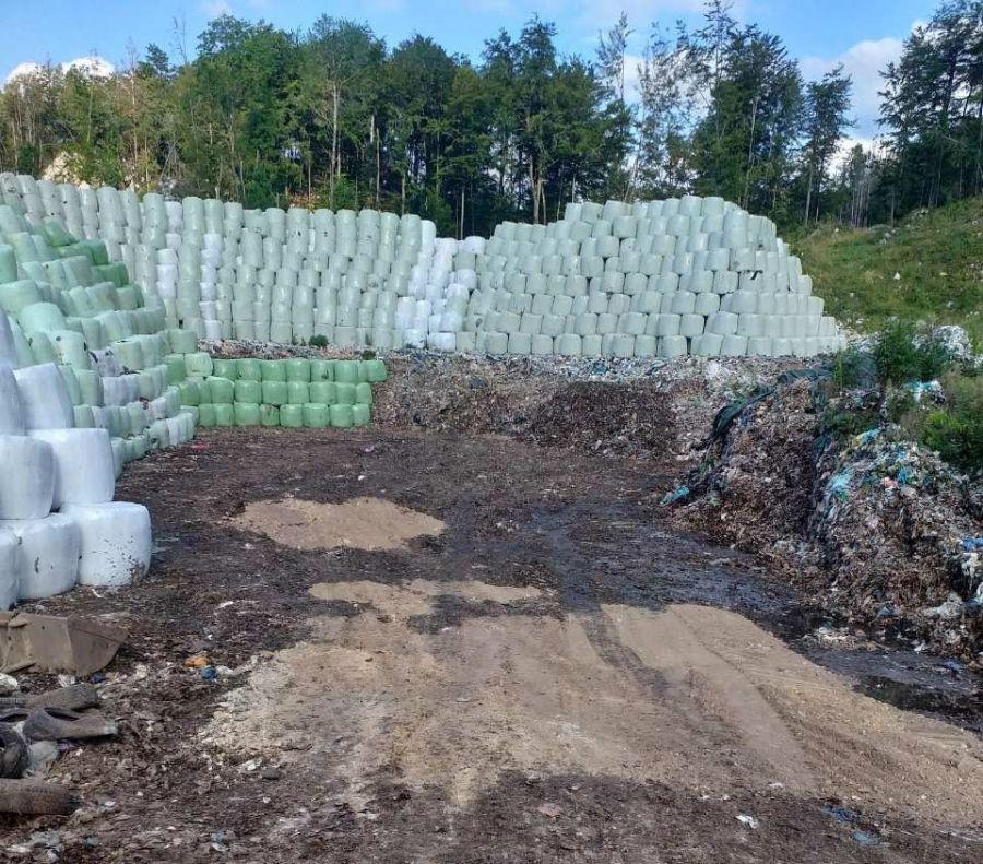 Občina Jesenice vztraja, da Ekogor sanira stanje na občinski parceli ob CERO Mala Mežakla (vir: Ekogor, z dne 2. 8. 2019)