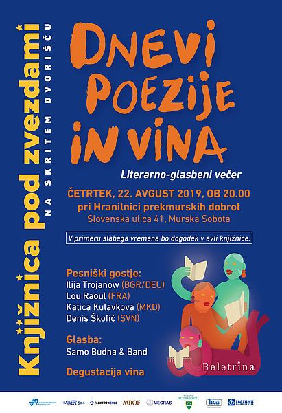 Knjižnica Pod Zvezdami: Dnevi poezije in vina