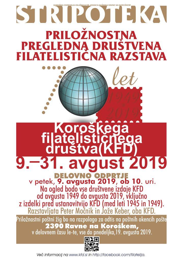 70 let Koroškega filatelističnega društva (KFD)
