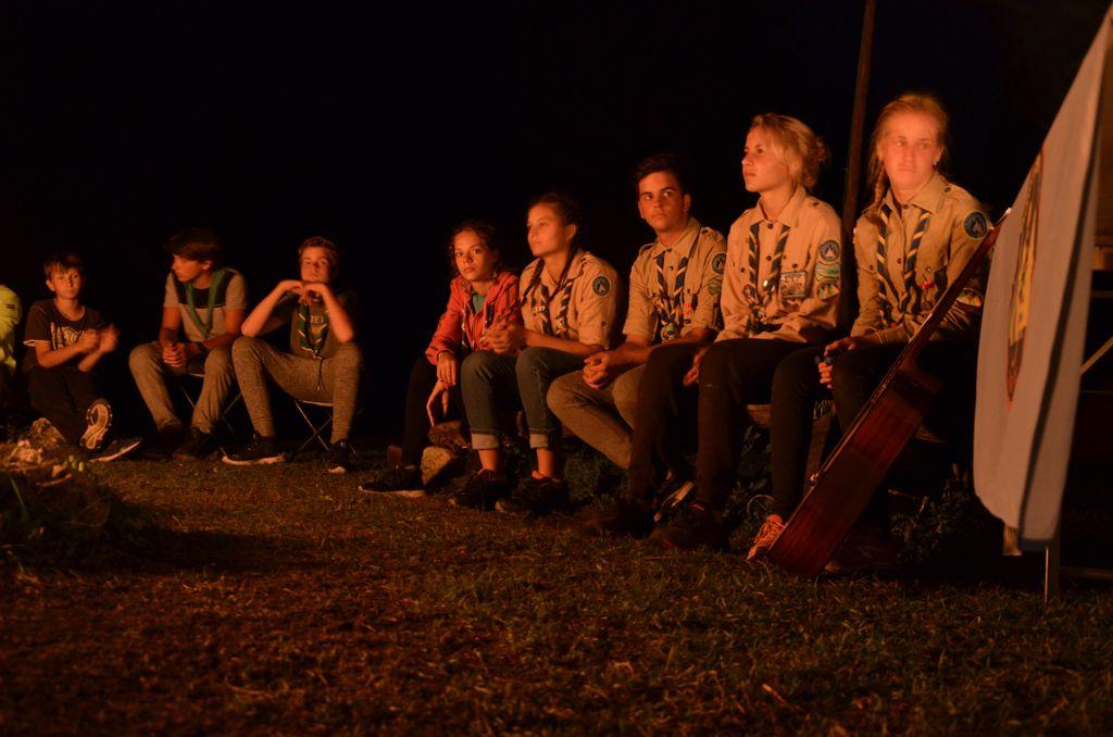 Fotourinki zadnjega večera tabornikov