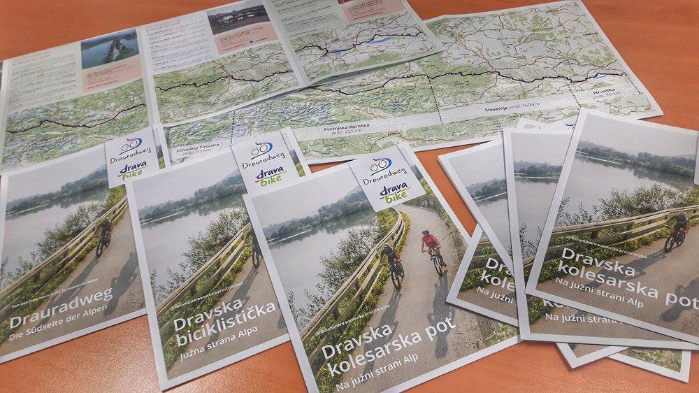 Skupna promocijska brošura Dravske kolesarske poti