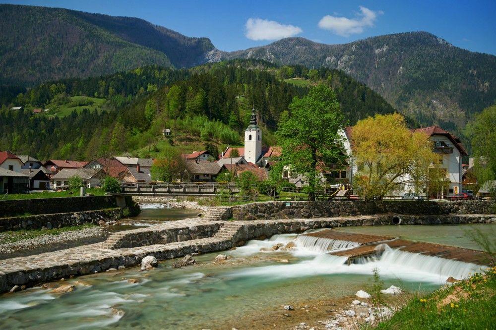 Luče kot drugi slovenski kraj vstopajo v mrežo Gorniške vasi (foto Tomo Jeseničnik)