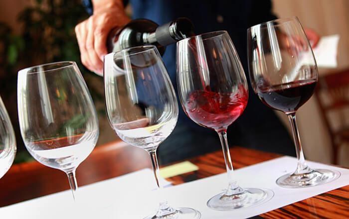 Degustacija vina v hotelu Dobrava