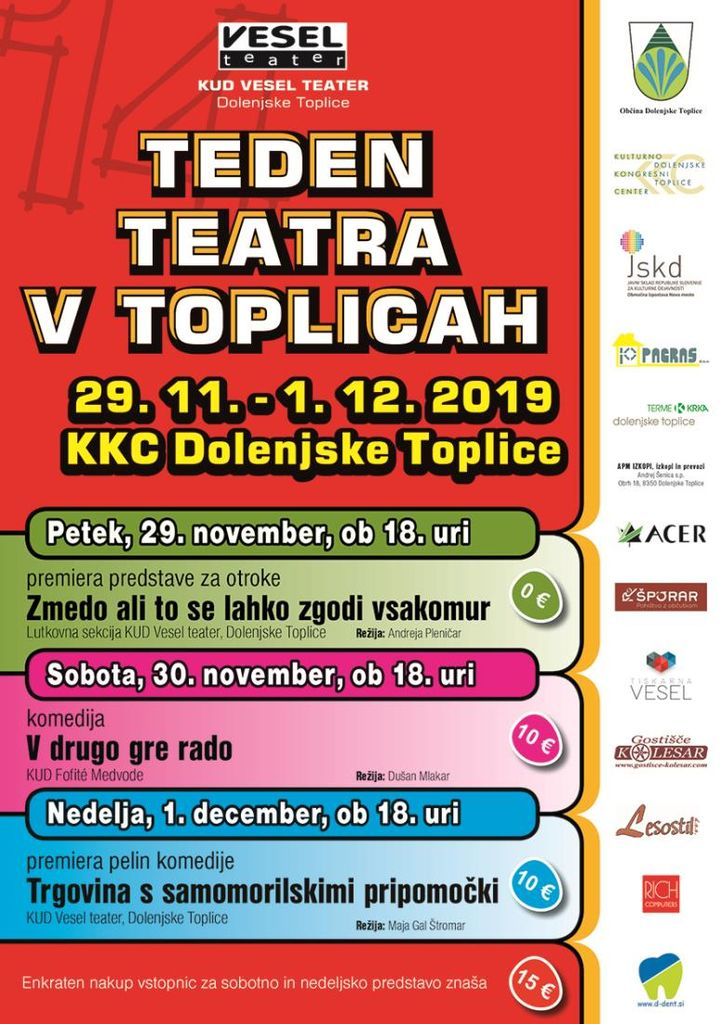 TEDEN TEATRA V TOPLICAH