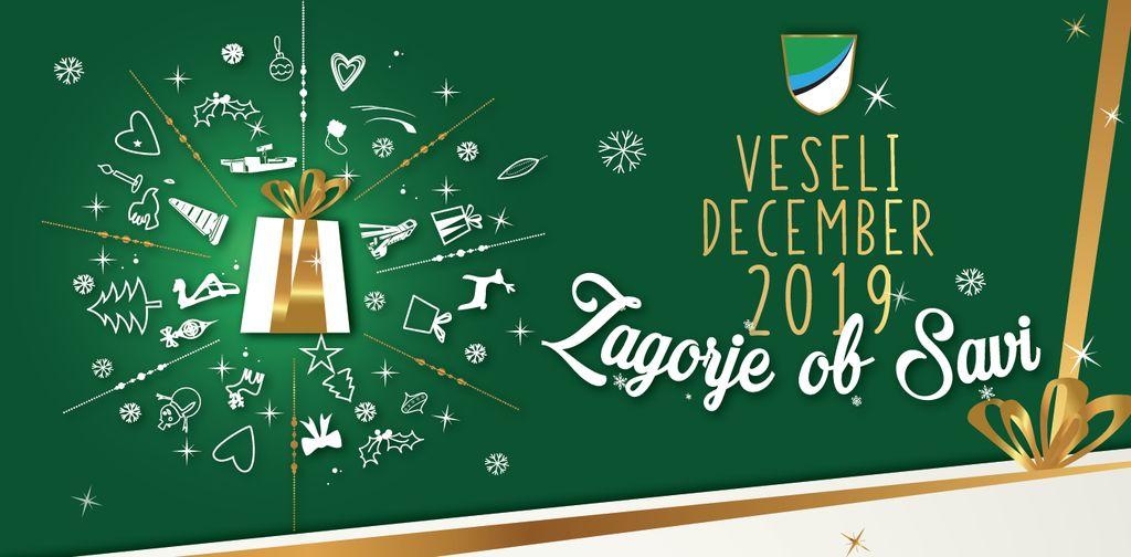 VESELI DECEMBER 2019 - PROGRAM PRIREDITEV