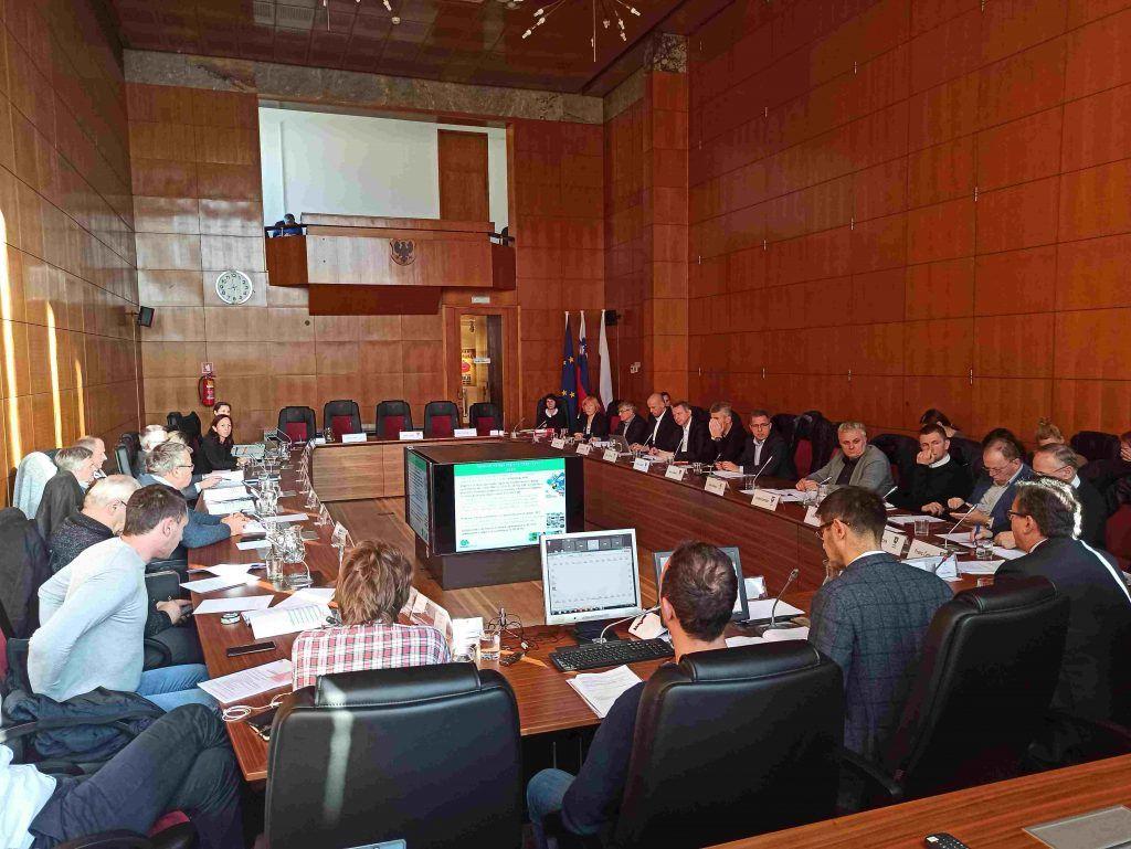 Gorenjski župani so se sestali na zadnji letošnji seji Sveta regije