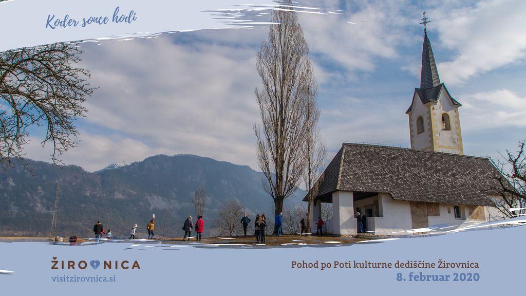 Pohod po Poti kulturne dediščine Žirovnica