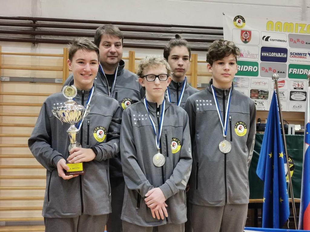 Uspešno izpeljano 29. prvenstvo za kadete in kadetinje v namiznem tenisu
