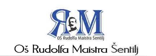 Obvestilo o vpisu v Osnovno šolo Rudolfa Maistra Šentilj