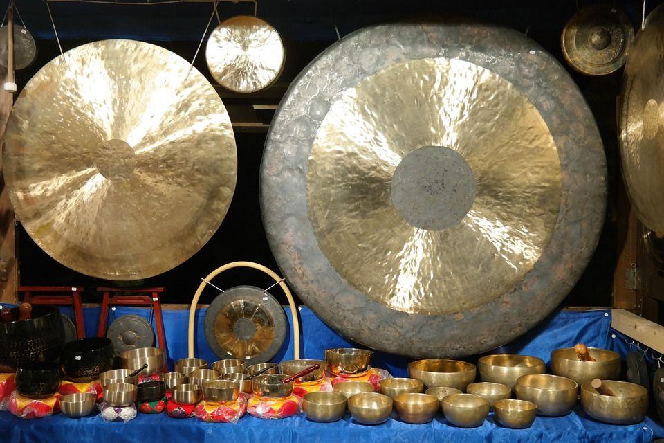 Sproščanje z gongom