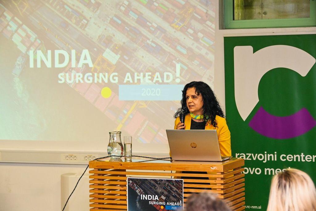 Poslovni dogodek: Indija prodira naprej v Novem mestu