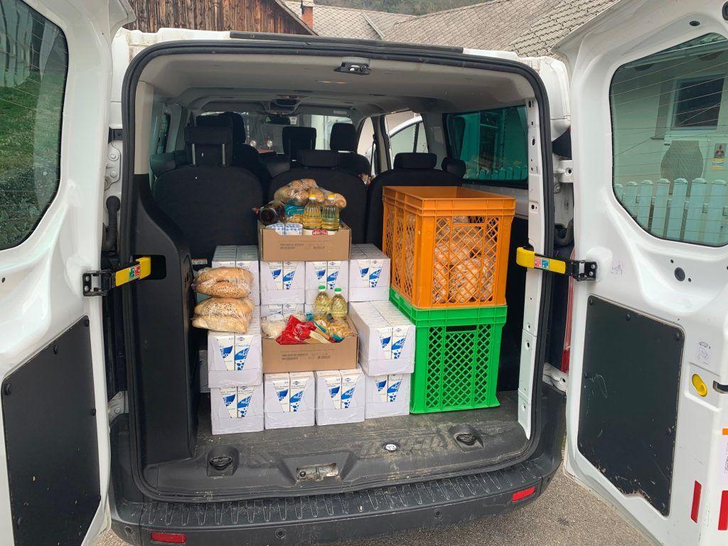 Razvoz prehrambenih paketov občanom občine Žirovnica