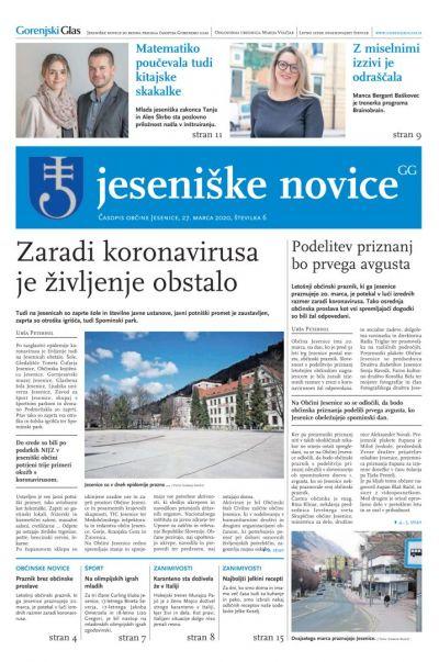 Jeseniške novice, 27. marec 2020-6