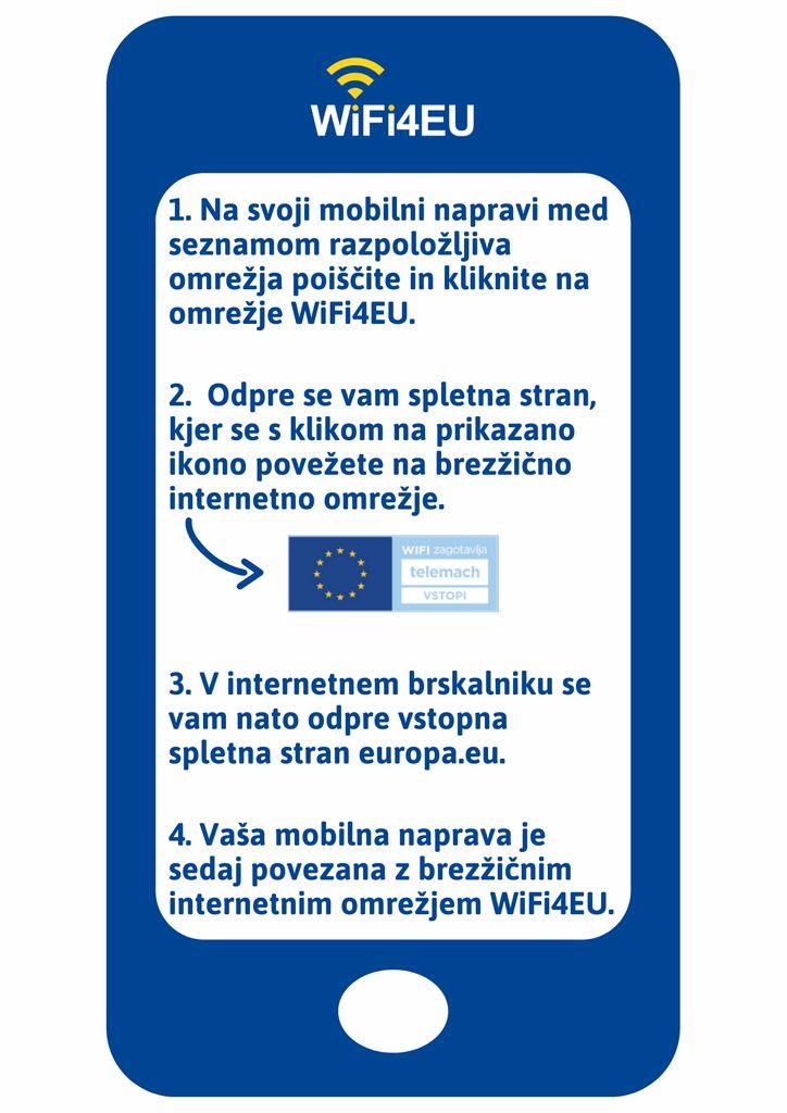 Brezplačni dostop do interneta WiFi4EU