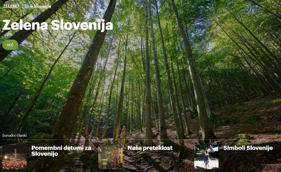 Spletno mesto slovenia.si |Avtor UKOM arhiv