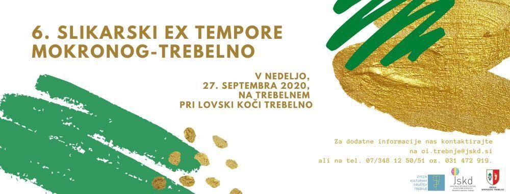 Tradicionalni Slikarski ex tempore Mokronog-Trebelno tokrat septembra