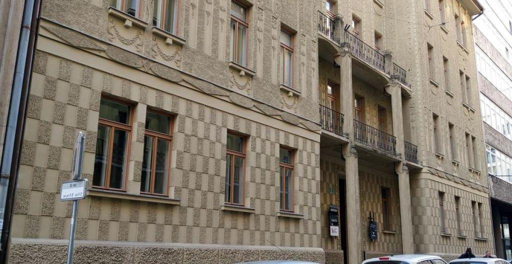 Naj blok v Ljubljani za leto 2019 stoji v središču mesta, na Beethovnovi ulici 9. Foto: arhiv MOL