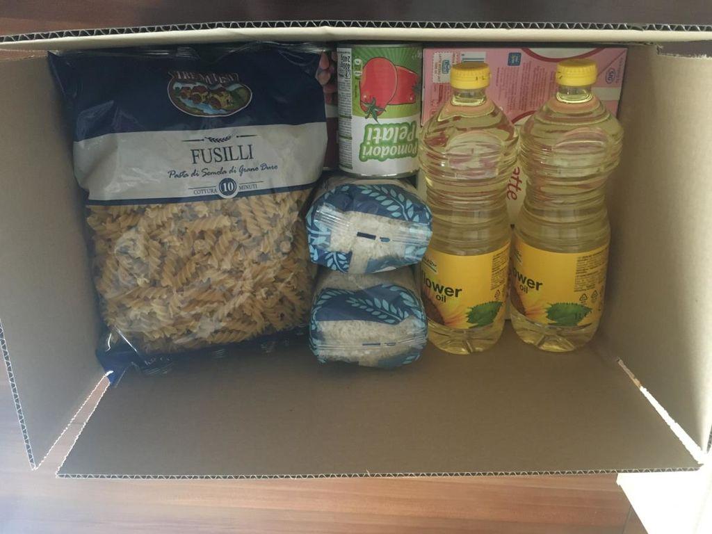 Prehrambni paketi za najbolj ogrožene