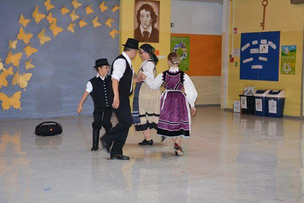 Športno-plesni dan v DOŠ Prosenjakovci