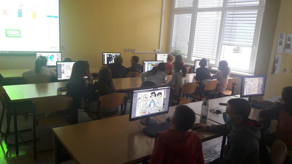 VIRTUALNI JAZ: Tehniški dan osnovnošolcev
