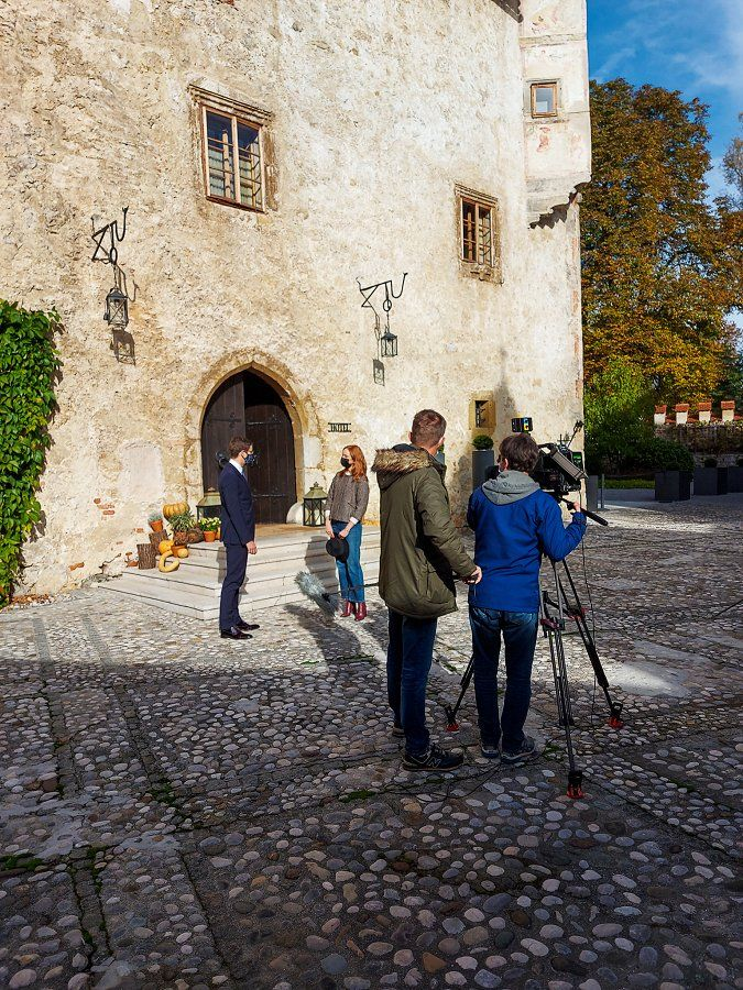 Novomeško obarvana oddaja Na lepše danes na TV SLO 1