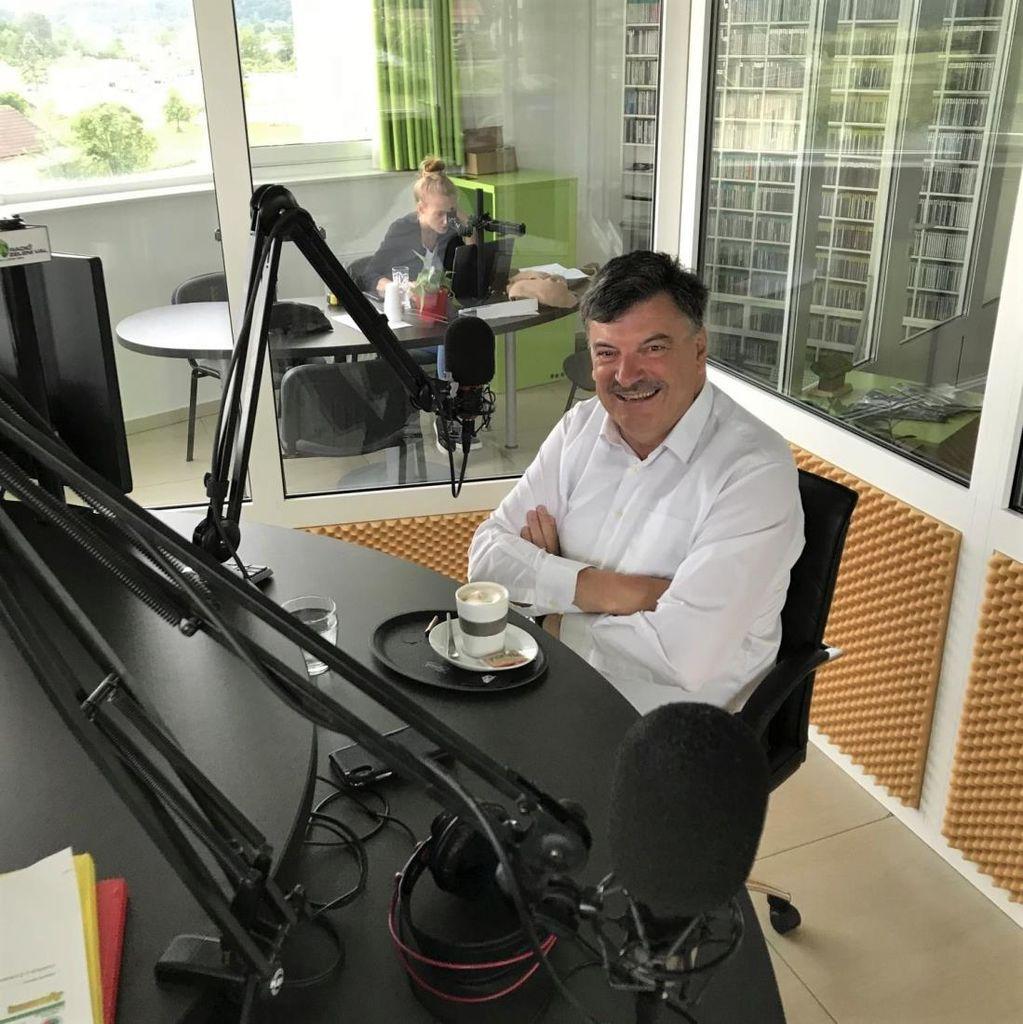 Župan dr. Peter Verlič gost oddaje na radiu Zeleni val