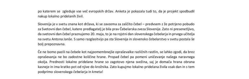 Tradicionalni slovenski zajtrk - 20.11.2020