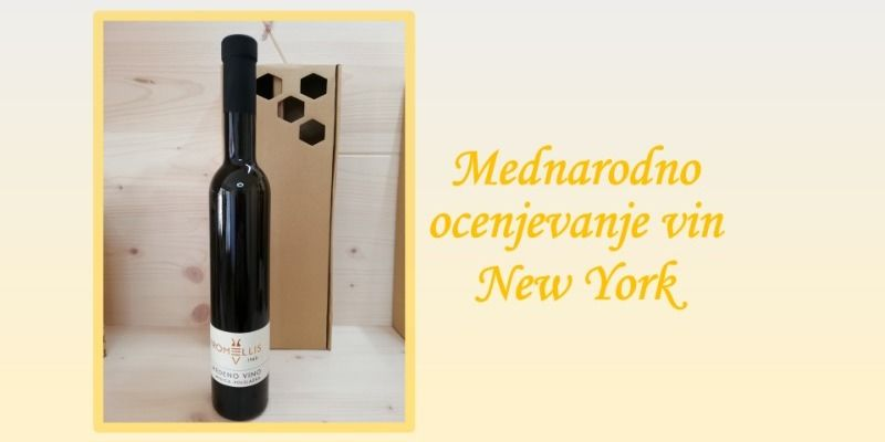 Slovenske medene pijače v New York-u dobile priznanja