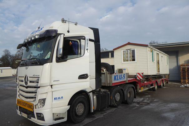 Republiki Hrvaški kot pomoč ob potresu zagotovili mobilne hiške