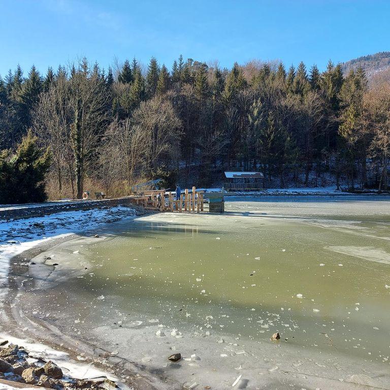 Začetek del na Braslovškem jezeru