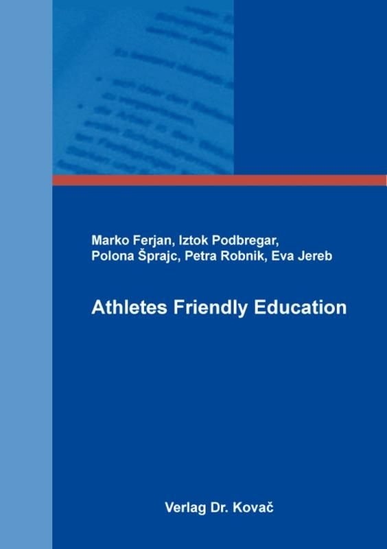 "Izid knjige ""Athletes friendly education"""