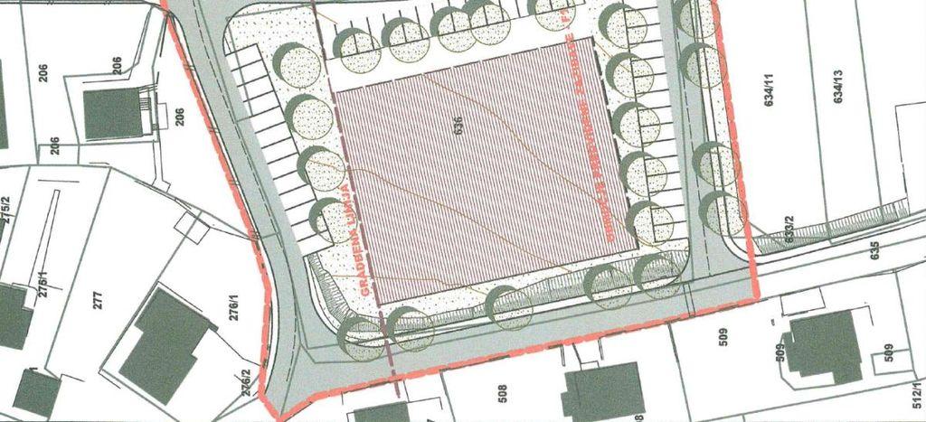 V centru Mežice možna gradnja večstanovanjskega objekta (objektov) - dražba zemljišča v februarju