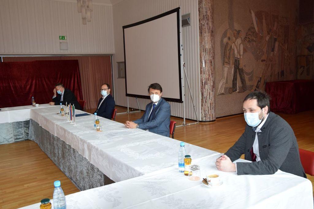 Obisk ministra za infrastrukturo v Zagorju