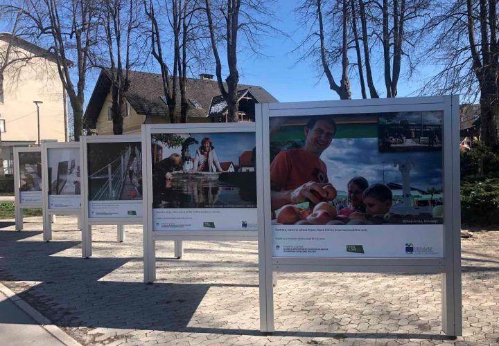 Evropska sredstva povezujejo Slovenijo: Potujoča fotografska razstava v Krašnji