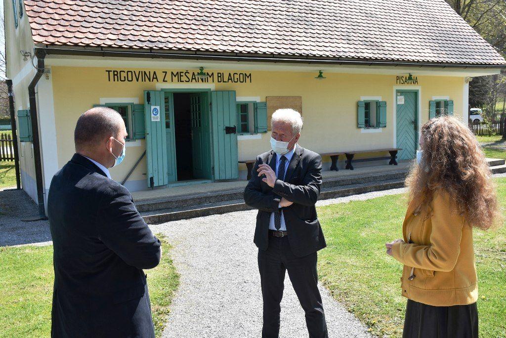 Minister dr. Podgoršek v Halozah o razvojnih potencialih